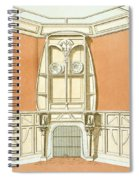 Interior Design For A Dining Room Spiral Notebook