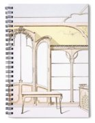 Interior Design For A Fashion Shop Spiral Notebook