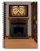 Interior Design Idea - Barn Owl Spiral Notebook