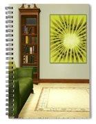 Interior Design Idea - Kiwi Spiral Notebook