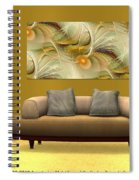 Interior Design Idea - Soft Wings Spiral Notebook