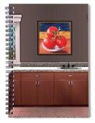 Interior Design Idea - Tomatoes Spiral Notebook