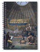 Interior Of A Kalmuk Yurt, 1812-13 Spiral Notebook