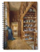 Interior Of A Panelled House Spiral Notebook
