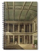 Interior Of Concert Room, From Bath Spiral Notebook