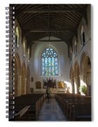 Interior Of St Mary's Church In Rye Spiral Notebook