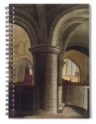 Interior Of The Church Of The Holy Spiral Notebook