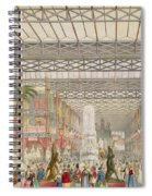 Interior Of The Crystal Palace, Pub Spiral Notebook