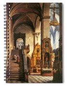 Interior Of The Dominican Church In Krakow Spiral Notebook