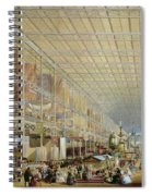 Interior Of The Great Exhibition Of All Spiral Notebook
