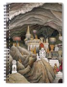 Interior Of The Grotto Of Nam Hou Spiral Notebook