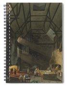 Interior Of The Kitchen, Trinity Spiral Notebook