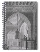 Interior Of The Mosque Of Kaid-bey Spiral Notebook