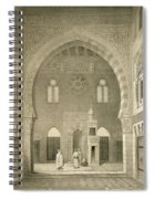 Interior Of The Mosque Of Qaitbay, Cairo Spiral Notebook