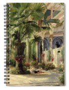 Interior Of The Palm House At Potsdam Spiral Notebook