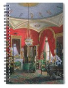 Interior Of The Winter Palace Spiral Notebook