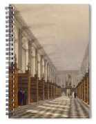 Interior Of Trinity College Library Spiral Notebook