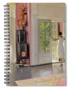 Interior Oil On Canvas Spiral Notebook