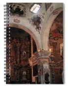 Interior  San Xavier Mission Tucson Arizona 2006 Spiral Notebook