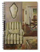 Interior With Chair Spiral Notebook