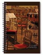 Intermission Spiral Notebook
