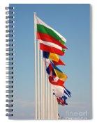 International Flags Nisyros Spiral Notebook