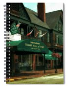 International Tennis Hall Of Fame Spiral Notebook