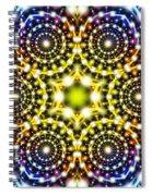Interstellar Mind Travel Spiral Notebook