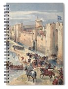 Interview Of Aigues-mortes Spiral Notebook