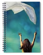 Into The Atmosphere Spiral Notebook
