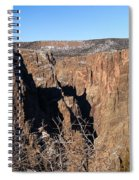 Into The Black Canyon Spiral Notebook