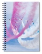 Into The Blue Spiral Notebook