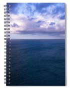 Into The Blues Spiral Notebook