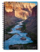 Into The Canyon Spiral Notebook