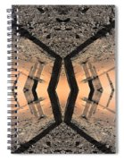 Into The Core Spiral Notebook