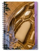 Into The Dome Spiral Notebook
