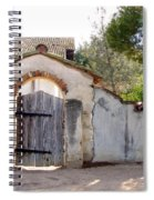 Into The Light, Mission San Miguel Archangel, California Spiral Notebook