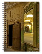 Into The Looking Glass Spiral Notebook