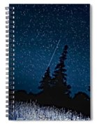 Into The Night Spiral Notebook