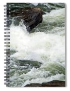 Into The Rapids Spiral Notebook