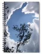 Into The Sky Spiral Notebook
