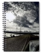 Two-lane Escape Spiral Notebook
