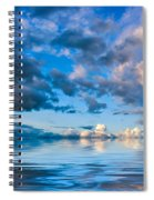 Into The Wild Blue Yonder Spiral Notebook