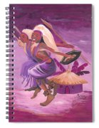 Intore Dance From Rwanda Spiral Notebook