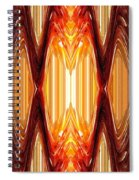 Intrepid Zigzags Spiral Notebook