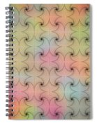 Intricacy Digital Seamless Design Spiral Notebook