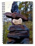 Inukshuk Spiral Notebook
