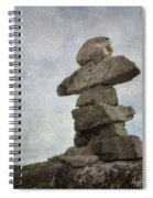 Inuksuk Spiral Notebook