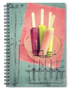 Invention Of The Ice Pop Spiral Notebook