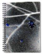 Inverted Shadows Spiral Notebook